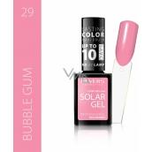 Revers Solar Gel Gel Nail Polish 29 Bubble Gum 12 ml