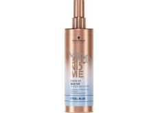 Schwarzkopf BlondMe Instant Blush Blonde Beautifier Steel Blue toning spray for blond hair 250 ml