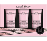 Baylis & Harding Jojoba, Vanilla and Almond oil hand cream 3 x 50 ml, cosmetic set