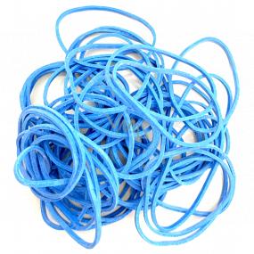 Rubber bands blue medium 20 g 619