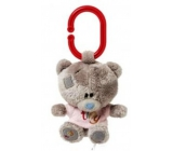 Me to You Tiny Tatty Teddy Teddy bear in pink shirt 10 cm