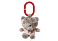 Me to You Tiny Tatty Teddy Teddy bear whistle in a pink T-shirt 10 cm