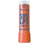 Dermacol SOS Lips Extra Protection SPF15 Lip Balm Chocolate 3.5 ml