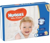 Huggies Ultra Comfort Jumbo size 3 5-8 kg diapers 58 pieces