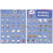 Ditipo Language Memory Prepositions English 297 x 222 mm