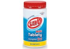 Savo 3v1 Mini Komplex Chlorové tablety do bazénu - dezinfekce 800 g