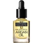 Gabriella Salvete Nail Care Nail & Cuticle Argan Oil vyživující a hydratační olej na nehty 21 Light Yellow 11 ml