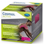 Cosmos Active Kinesiology Kinesiological Taping Tape Pink 5 cm x 5 m
