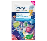 Tetesept Cosmonaut Bath Pearls amazing water color, glitter and crackle effect for kids 80 g