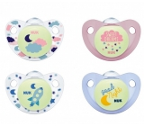 Nuk pacifier Trendline Day and Night SI, V2 6-18mes. 7896