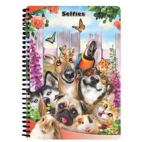 Prime3D notebook A5 - Animal Selfie 14.8 x 21 cm