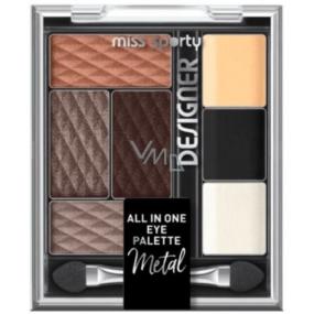 Miss Sports Designer All in One Eye Palette Eyeshadow Palette 300 9.5 g