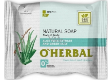 About Herbal Natural Aloe Vera and green clay natural toilet soap 100 g