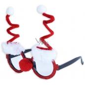 Christmas Glasses Santa Claus