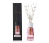 Millefiori Milano Natural Magnolia Blossom & Wood - Magnolia flowers and Wood Diffuser 100 ml + 7 stems in a length of 25 cm for smaller spaces lasts 5-6 weeks