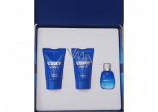 Missoni Wave eau de toilette for men 5 ml + shower gel 25 ml + aftershave 25 ml, mini gift set