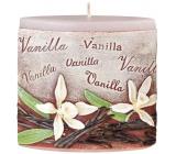 Emocio Vanilla Vanilla scented candle ellipse 110 x 45 x 110 mm