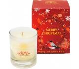 English Soap Merry Christmas - Merry Christmas soy scented candle 170 ml, burns for up to 35 hours