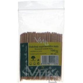 Bartoň Wooden decorative needles small 100 pieces