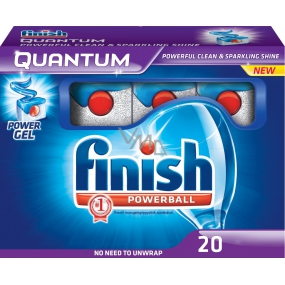 Calgonit Finish Quantum Regular 20 dishwasher tablets