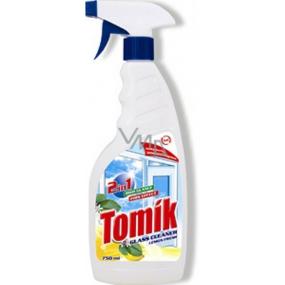 Tomík Glass Cleaner Lemon Fresh 2 in 1 glass cleaner 750 ml