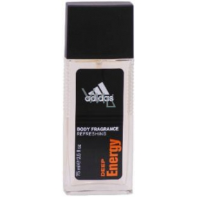 Adidas Deep Energy EdP 75 ml men's deodorant glass