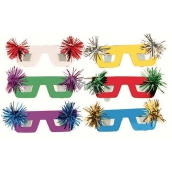 Mask glasses with tassel 6 pieces