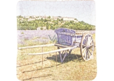 Bohemia Gifts & Cosmetics Carriage with decorative tile background 10 x 10 cm