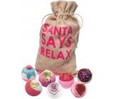 Bomb Cosmetics Christmas relax 7 ballistics, 160 g each, cosmetic set