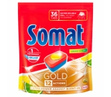 Somat Gold Lemon & Limea 12-dishwasher tablets remove even the most stubborn residues and stains from tea and coffee and provide perfect washing results at up to 40 ° 36 tablets
