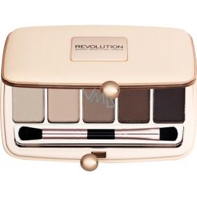 Makeup Revolution Renaissance Palette Day palette of eye shadow 5 x 1 g
