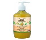 Green Pharmacy tek.krém. soap bean and lime 460ml - protecting 7814