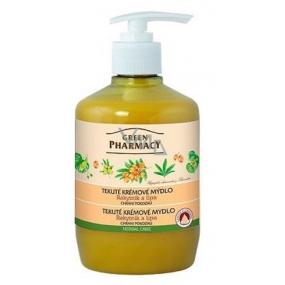Green Pharmacy Sea buckthorn and linden liquid creamy protective soap 460 ml