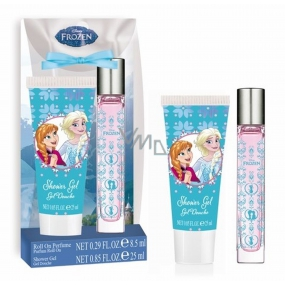 Disney Frozen Eau de Toilette Roll-on for Children 8.5 ml + shower gel 25 ml, gift set