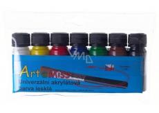 Art E Miss Universal acrylic paint set 7x12g 1116