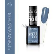Revers Solar Gel Gel Nail Polish 45 Stormy Weather 12 ml
