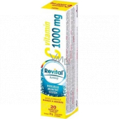Revital Vitamin C Mango and pineapple dietary supplement for normal immune function 1000 mg 20 effervescent tablets