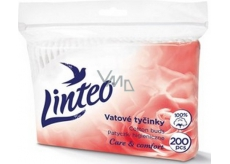 Linteo Satin soft cotton swab 200 pieces bag