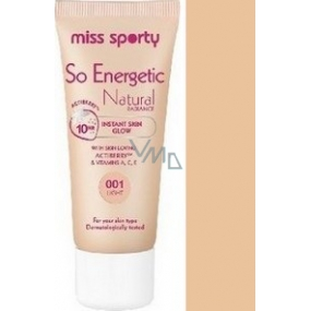 Miss Sports So Energetic Radiance Makeup 01 Light 30 ml
