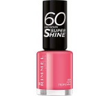 Rimmel London 60 Seconds Super Shine Nail Polish 407 Hot Tropicana 8 ml