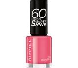 Rimmel London 60 Seconds Super Shine Nail Polish lak na nehty 407 Hot Tropicana 8 ml