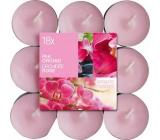 Bolsius Aromatic Pink Orchid s vůní orchideje vonné čajové svíčky 18 kusů