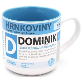 Nekupto Hrnkoviny Mug with the name Dominik 0.4 liters