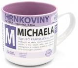 Nekupto Mugs Mug with the name of Michael 0.4 liters