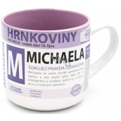Nekupto Mugs Mug with the name of Michael 0.4 liters