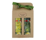Bohemia Gifts & Cosmetics Olive oil, grape oil and citrus extract oil shower gel 250 ml + oil shampoo for hair 250 ml, cosmetic set