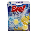 Bref Perfume switch Marine-Citrus WC block with scent of freshness and citrus scent change effect 50 g