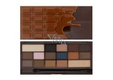 I ♥ MAKEUP Wonderful palette of eye shadow, ♥ Salty caramel