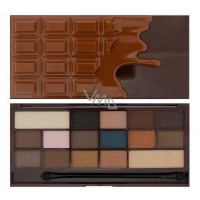 I Heart Revolution Chocolate Eye Shadow Palette Salty Caramel 22 g