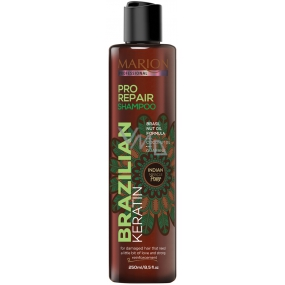 Marion Brazilian Keratin Pro Repair shampoo for damaged hair 250 ml